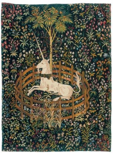 La Licorne captive - Tapisserie - Gobelins Tapis