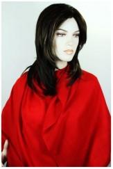 Pashmina pure rouge vif
