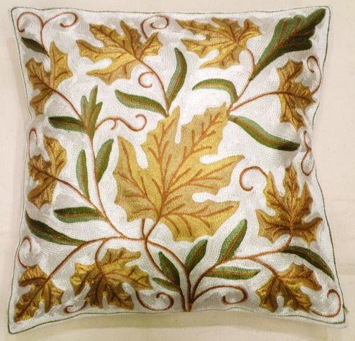Housse de coussin fleur jaune gobelins tapis - Housse de coussin jaune ...