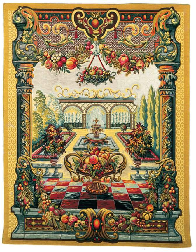 Jardin de bagatelle gobelins tapis for Bagatelle jardin