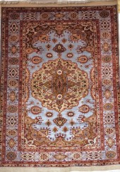 Tapis pure soie afghan