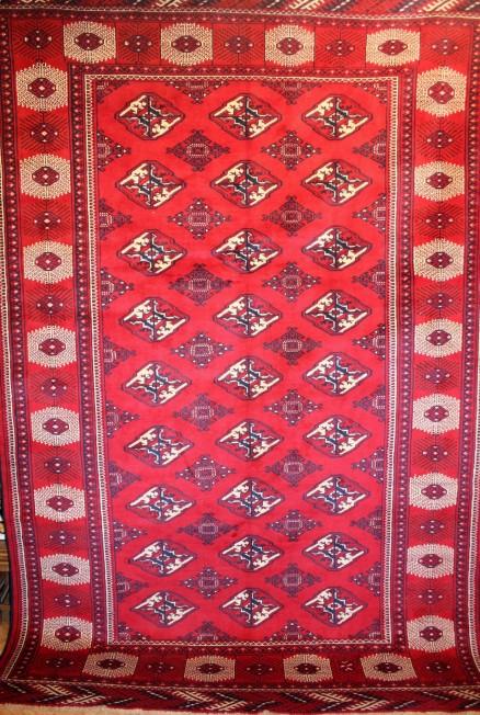 Tapis afghan boukhara grand