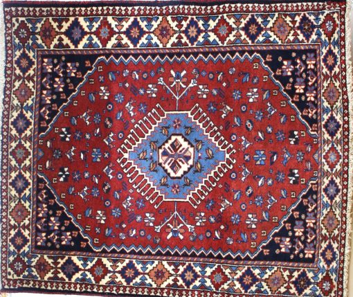 tapis persan yalameh 110x93 gobelins tapis. Black Bedroom Furniture Sets. Home Design Ideas