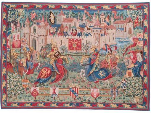 Tapisserie Le Tournoi de Camelot